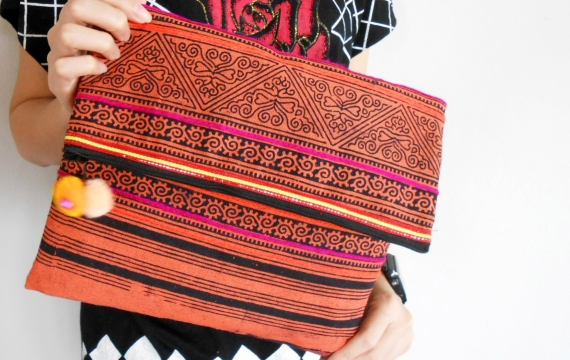 Let your bag with brocade