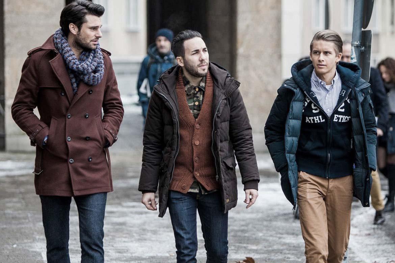 Men in fashionable clothing Men s Clothing Shop Men s Outfits Online H M US
